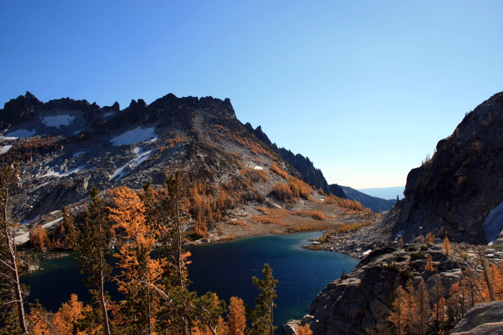 Perfection Lake with McClellan Peak