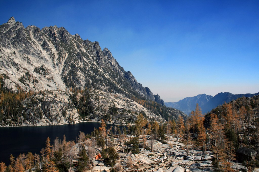 Snow Creek Valley from Enchantments