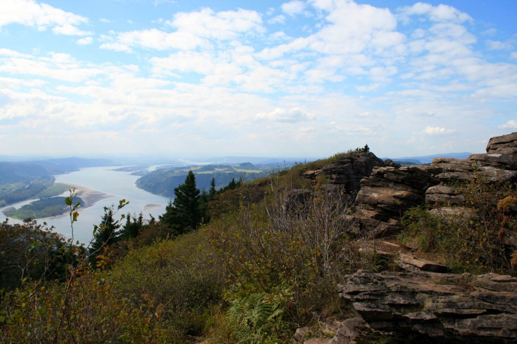 Angels Rest looking westward