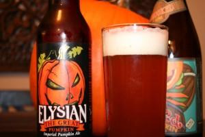 Elysian the great pumpkin imperial pumpkin ale