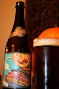 Oak Jacked Imperial Pumpkin Ale
