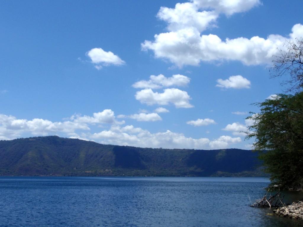 deep blue Laguna de Apoyo