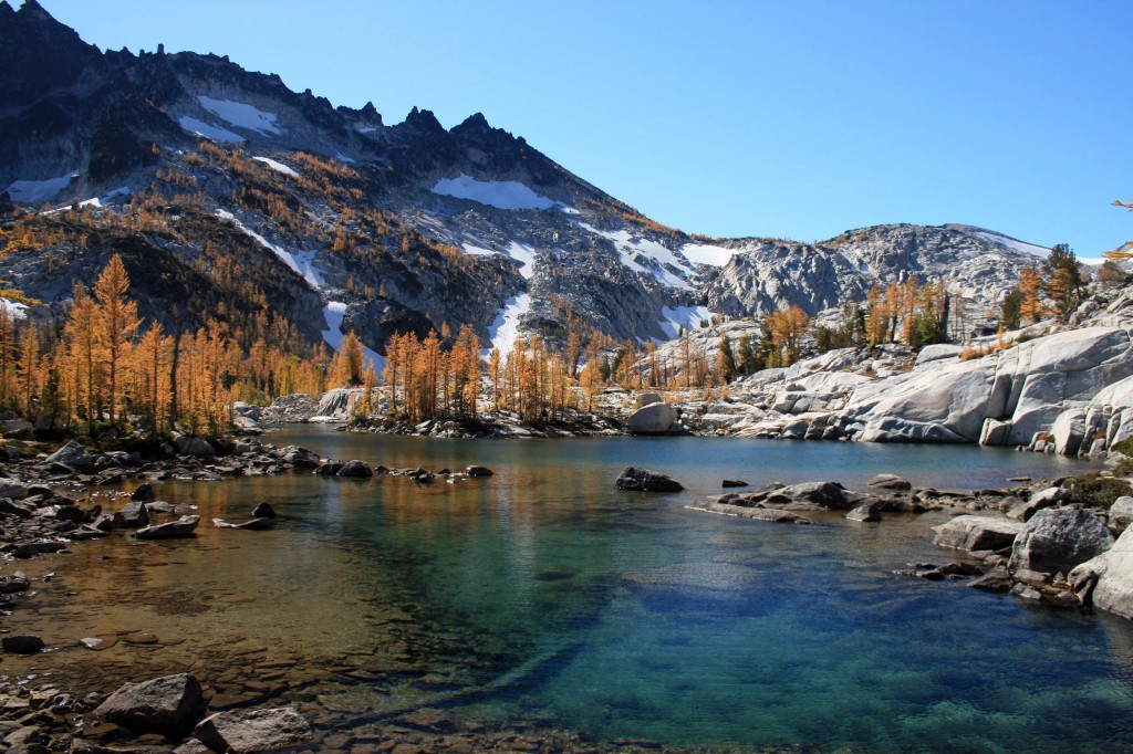 Leprechaun Lake in the Enchantments
