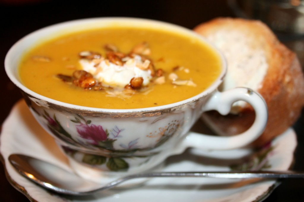 Spicy Fennel and Kabocha Soup