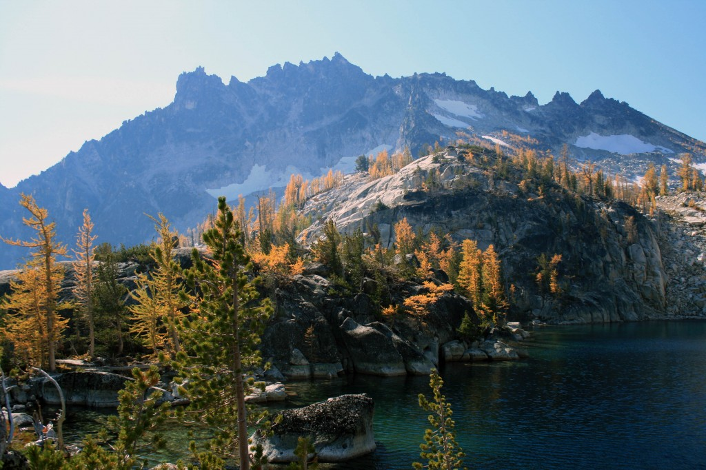 Viviane Lake Larches