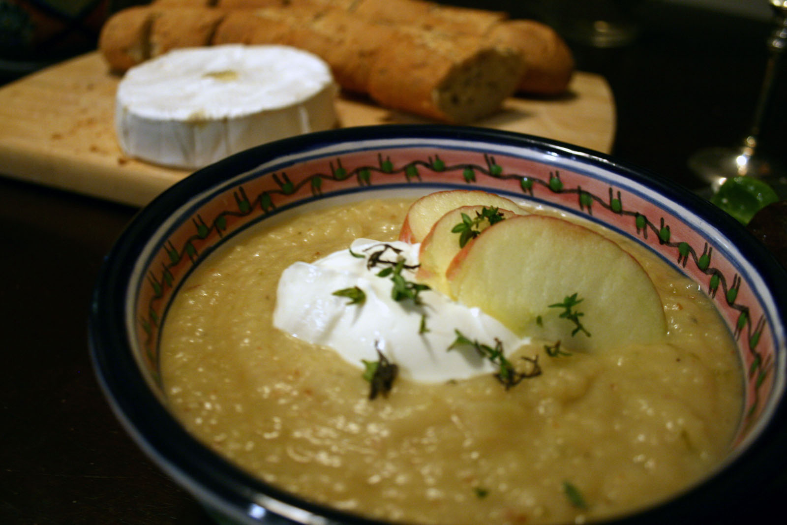 apple potato soup