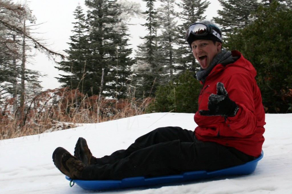 five mile butte sledding steve