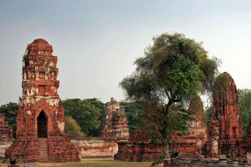 Ruins in Ayuthaya