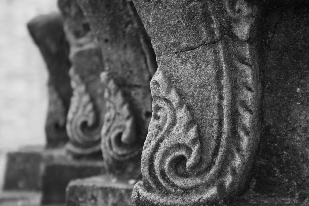 ayuthaya ruin detail