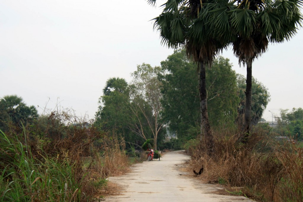country road ayuthaya