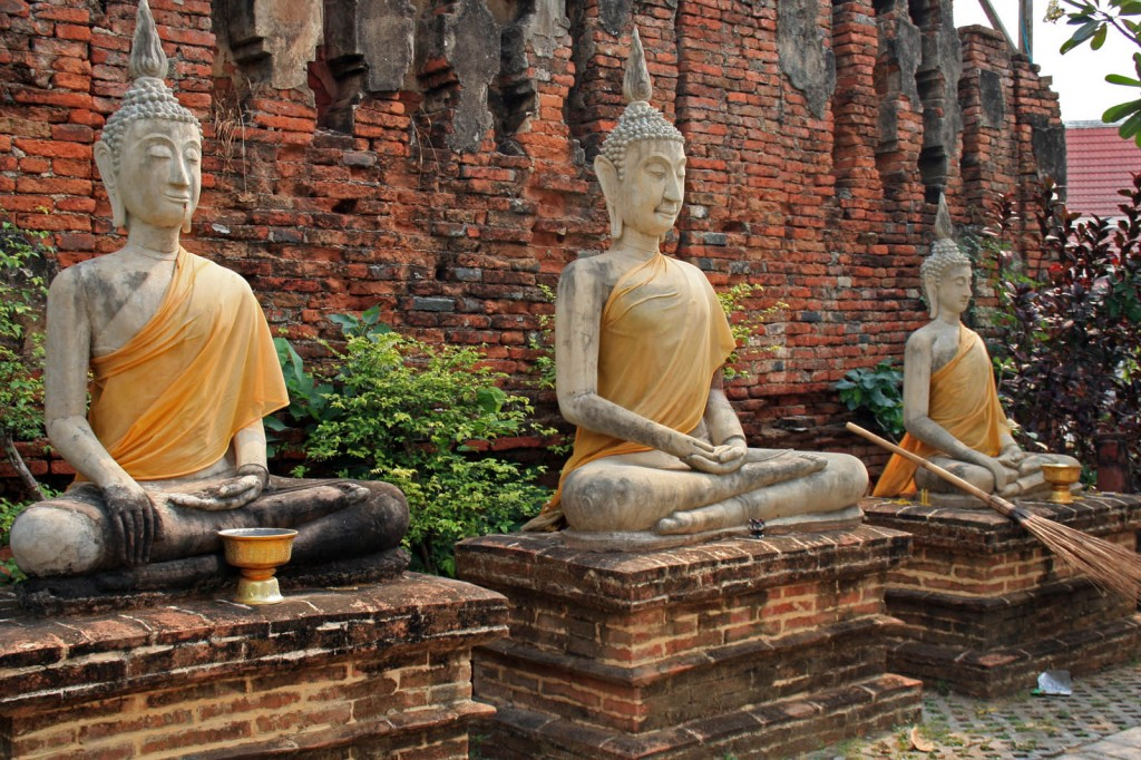 Buddha sculptures at Ayuthaya