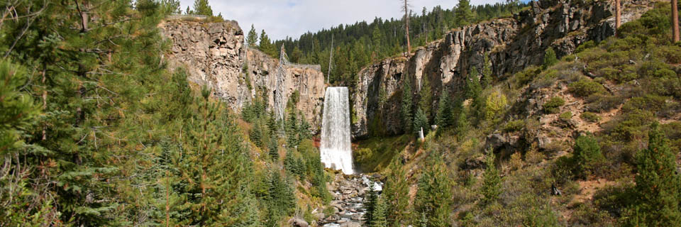 Tumalo falls header