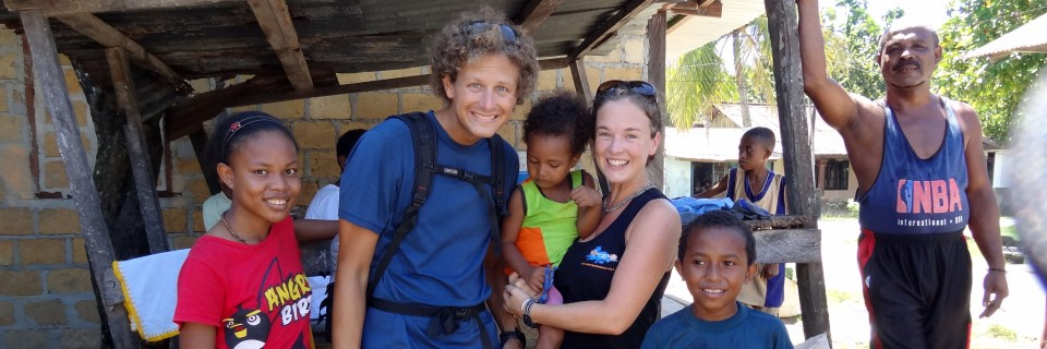 Sorong Autumn and Steve with kids header