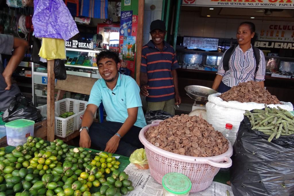 Sorong Betel Nut Vendors