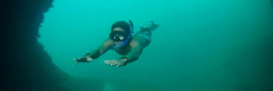 Raja Ampat cave snorkeling