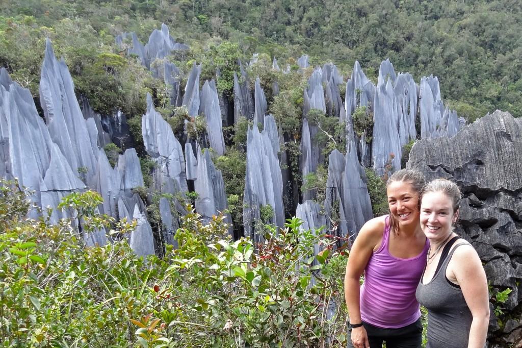 Malaysia, Gunung Mulu, Autumn and Angie