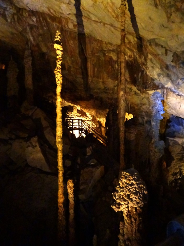Malaysia, Gunung Mulu Cave Stalagmites
