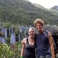 Malaysia, Gunung Mulu, Autumn and Steve