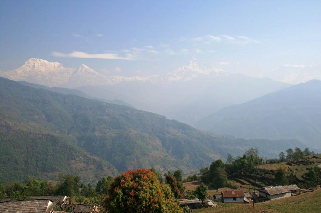 Dhampus Himalayas