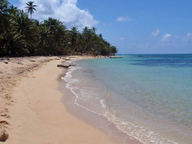 Beautiful Beach on Nica Little Corn