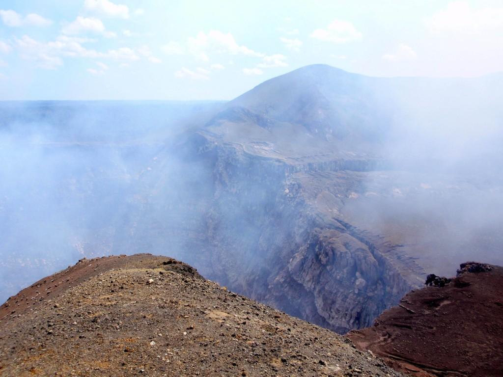 Volcan Masaya Crater