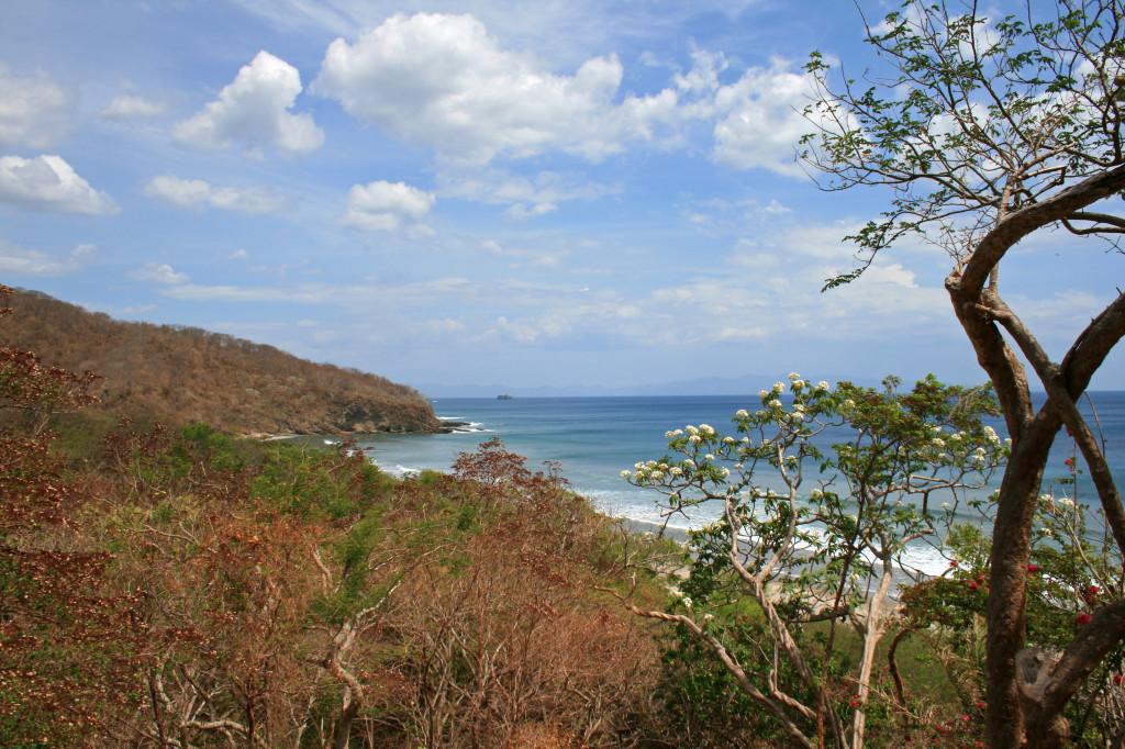 View-playa-escameca-dry-season