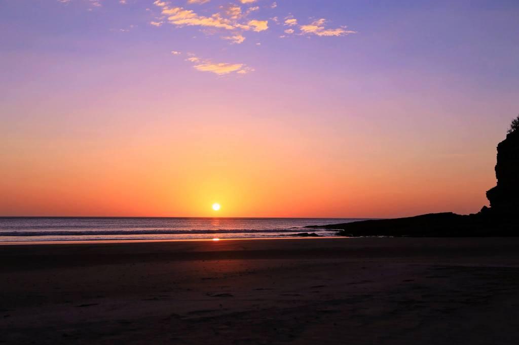 Nicaragua-yoga-retreat-sunset