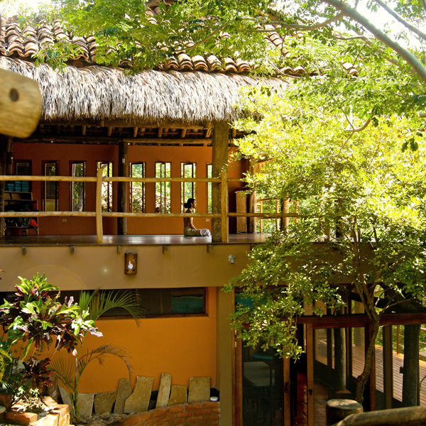 Our yoga space at Costa Dulce.