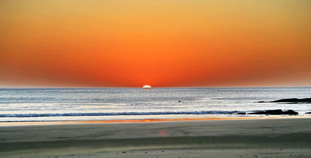 Sunset on Playa Escameca